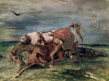 Mazeppa   Eugene Delacroix   oil painting
