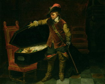Oliver Cromwell | Hippolyte Delaroche | oil painting