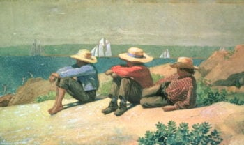 On the Beach 1875 | Winslow Homer | oil painting