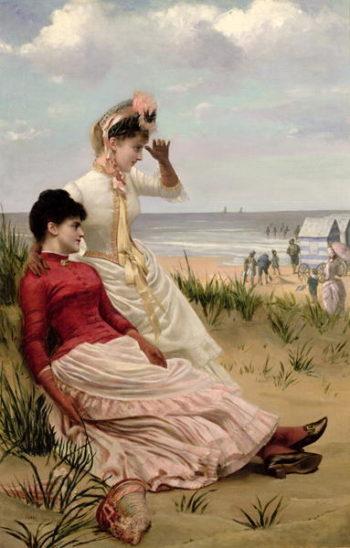 On the Beach | George van den Bos | oil painting