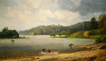 On the Wawayanda Lake New Jersey | Jasper Francis Cropsey | oil painting