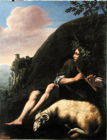 Pastoral Shepherd and Sheep | Jusepe de Ribera | oil painting