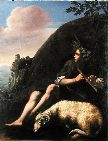 Pastoral Shepherd and Sheep | Jusepe de Ribera | oil painting