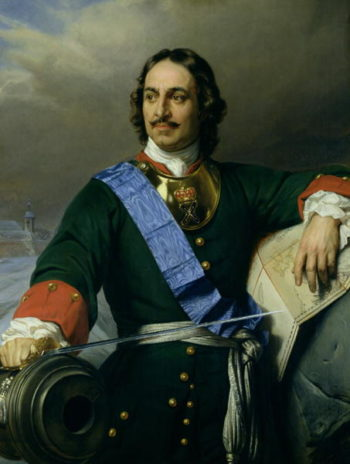 Peter I the Great | Hippolyte Delaroche | oil painting