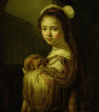 Picture of a Young Girl | Govaert Flinck | oil painting
