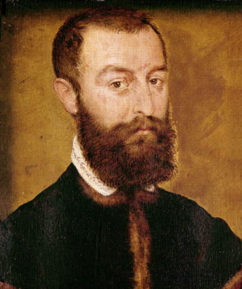 Portrait of a Man with a Beard or Portrait of a Man with Brown Hair | Corneille de Lyon | oil painting