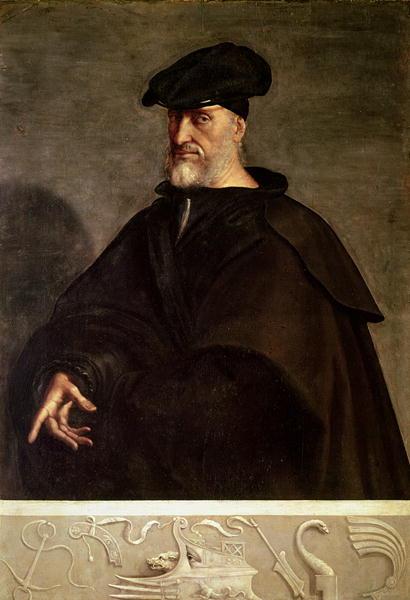 Portrait of Andrea Doria | Sebastiano del Piombo | oil painting