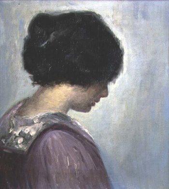 Portrait of a Lady | Viggo Johansen | oil painting