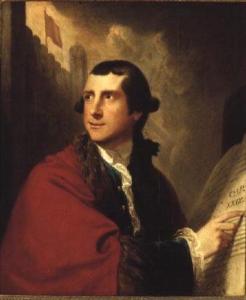 Portrait of Alderman Oliver 1771 | Robert Edge Pine | oil painting