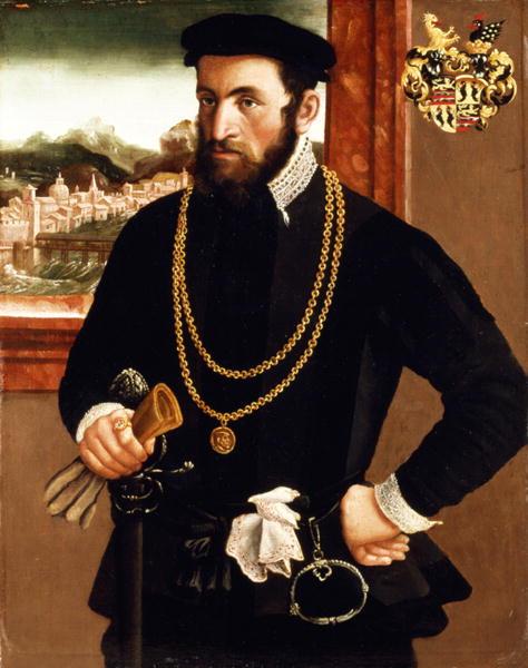 Portrait of Anton Rummel von Liechtenan | Francesco de Rossi Salviat | oil painting