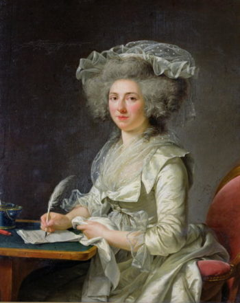 Portrait of a Woman 1787 | Adelaide Labille Guiard | oil painting
