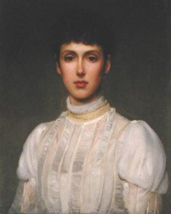 Portrait of a Woman   Philip Hermogenes Calderon   oil painting