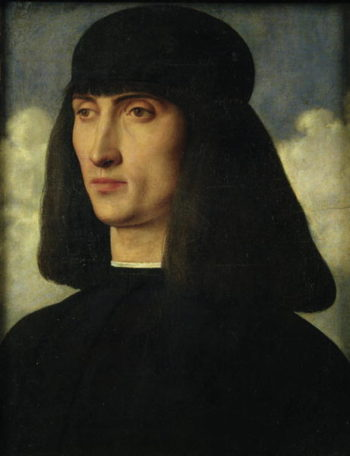 Portrait of a Young Man 1500 | Giovanni Bellini | oil painting