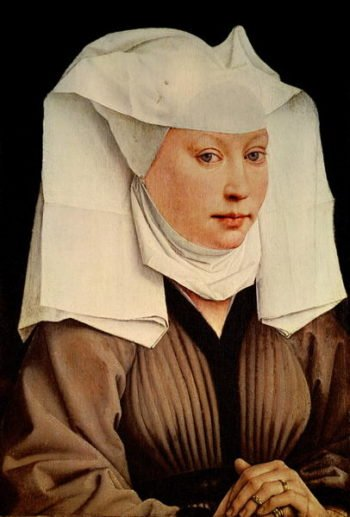 Portrait of a Young Woman in a Pinned Hat 1435 | Rogier van der Weyden | oil painting