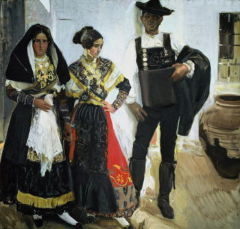 Salamancans 1912 | Joaquin Sorolla y Bastida | oil painting