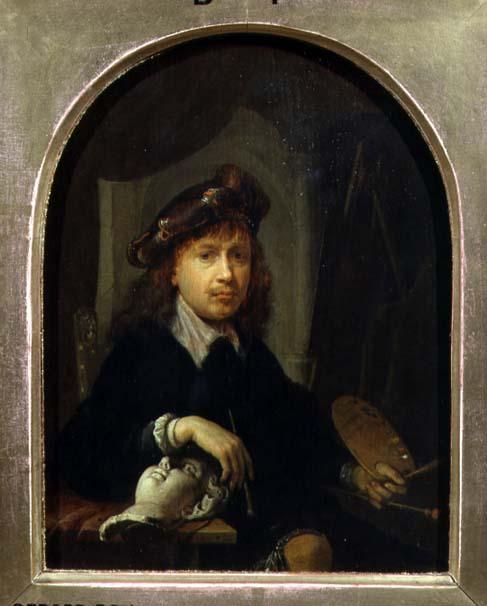 Self Portrait | Gerrit or Gerard Dou | oil painting
