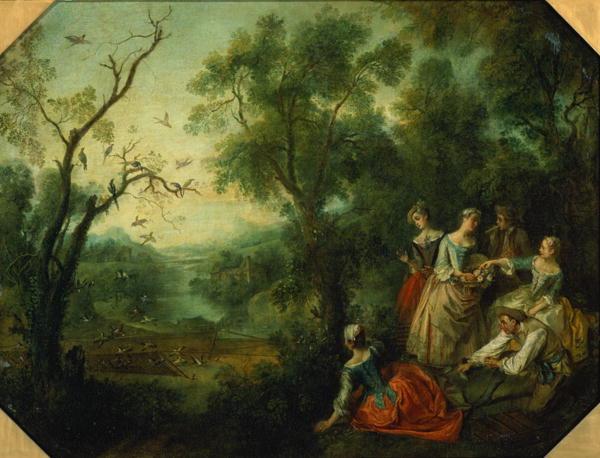 Spring 1738 | Nicolas Lancre | oil painting