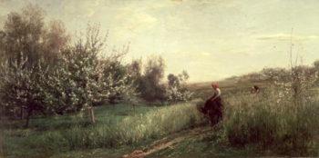 Spring 1857 | Charles Francois Daubigny | oil painting