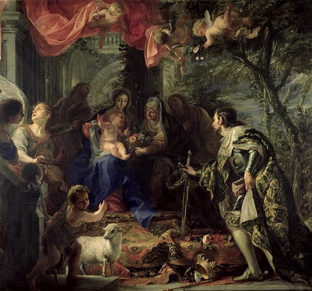 St Dominic   Federico Fiori Barocci or Baroccio   oil painting