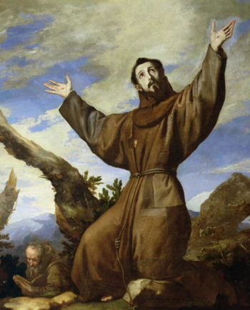St Francis of Assisi | Jusepe de Ribera | oil painting