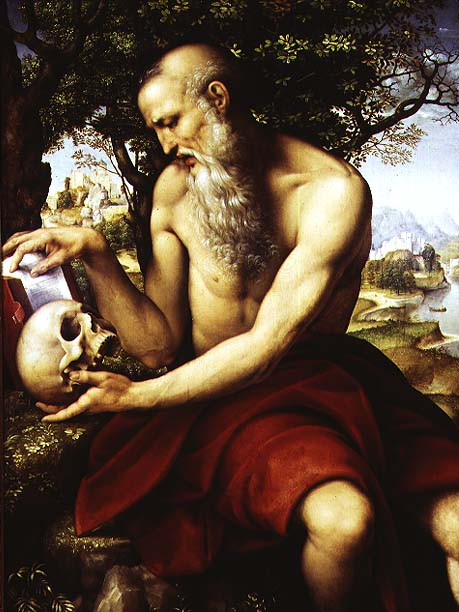 St Jerome 1507 12 | Cesare da Sesto | oil painting