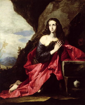 St Mary Magdalene or St Thais in the Desert 1640 41 | Jusepe de Ribera | oil painting