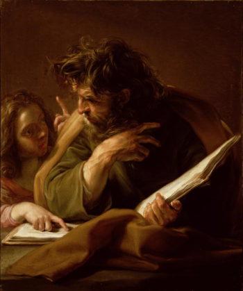 St Matthew | Pompeo Girolamo Batoni | oil painting