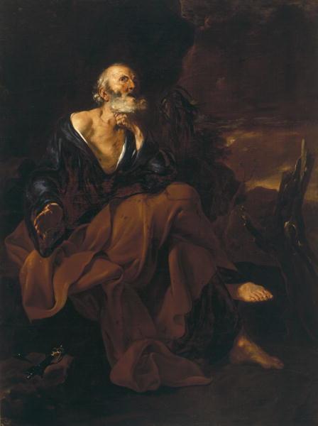 St Peter | Jusepe de Ribera | oil painting