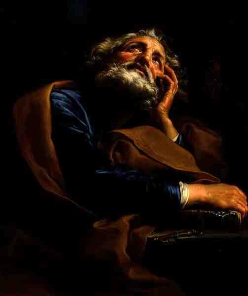 St Peter | Pompeo Girolamo Batoni | oil painting