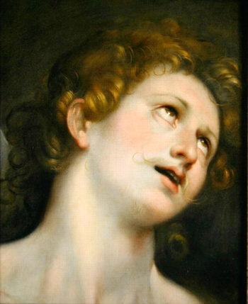 St Sebastian | Federico Fiori Barocci or Baroccio | oil painting