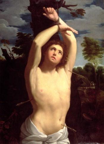 St Sebastian | Guido Reni | oil painting