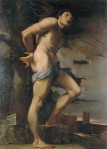 St Sebastian | Lodovico Carracci | oil painting