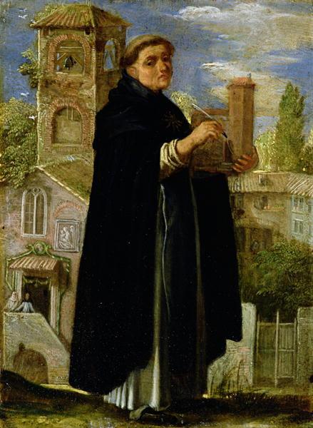 St Thomas Aquinas   Adam Elsheimer   oil painting