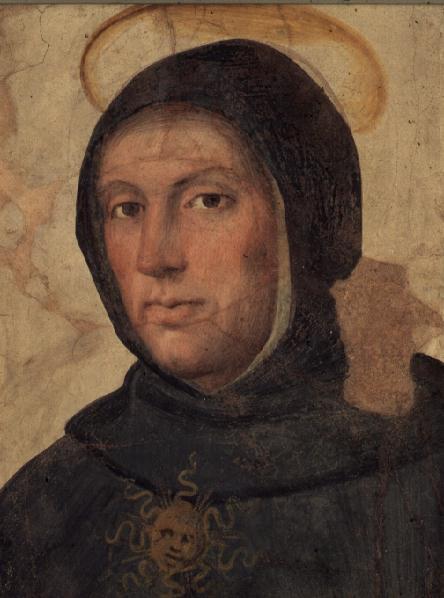 St Thomas Aquinas   Fra Bartolommeo   oil painting