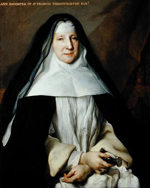 Ann Daughter of Sir Francis Throckmorton | Nicolas de Largilliere | oil painting