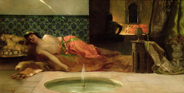 An Odalisque in a Harem   Constant   oil painting