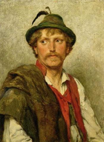 A Peasant | Hugo Wilhelm Kauffman | oil painting