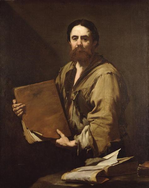 A Philosopher 1630 | Jusepe de Ribera | oil painting