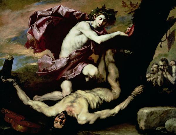 Apollo and Marsyas 1637 | Jusepe de Ribera | oil painting
