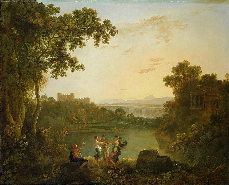 Apollo and the Seasons | Richard Wilson | oil painting
