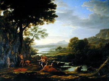 Apollo flaying Marsyas | Claude Lorrain | oil painting