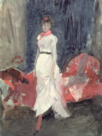 Arrangement in Pink and Purple 1881 85 | James Abbott McNeill Whistler | oil painting