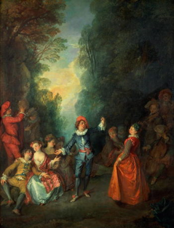 A Rustic Party | Nicolas Lancret | oil painting
