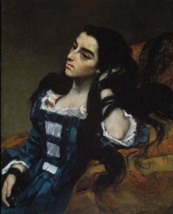 A Spanish Woman 1855 | Gustave Courbet | oil painting