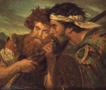 At Bay | Sir Joseph Noel Paton | oil painting