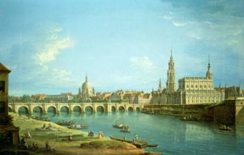 A View of Dresden | Antonio Jol | oil painting