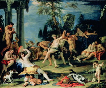Bacchanal in Pan's Honour | Sebastiano Ricci | oil painting
