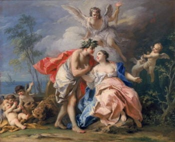 Bacchus and Ariadne | Jacopo Amigoni | oil painting