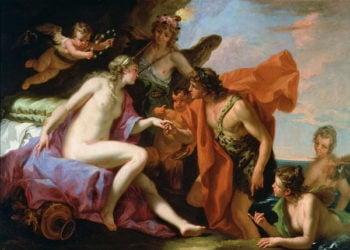 Bacchus and Ariadne | Sebastiano Ricci | oil painting