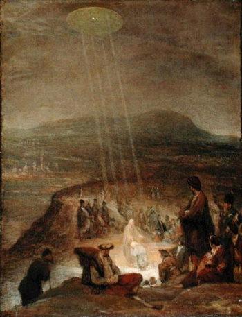 Baptism of Christ 1710   Aert de Gelder   oil painting
